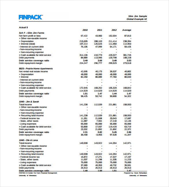 12+ Cash Flow Analysis Templates - Word, PDF, Google Docs, Apple