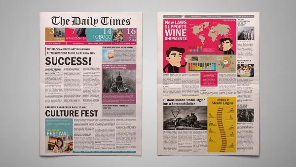177+ Newspaper Templates - Free Sample, Example, Format Download