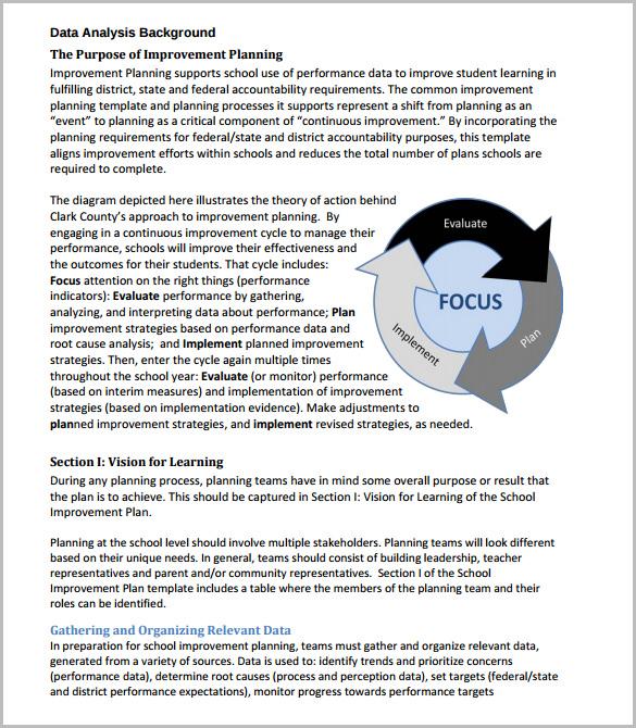 Data Analysis Template \u2013 8+ Free Word, PDF Format Download! Free - data analysis template