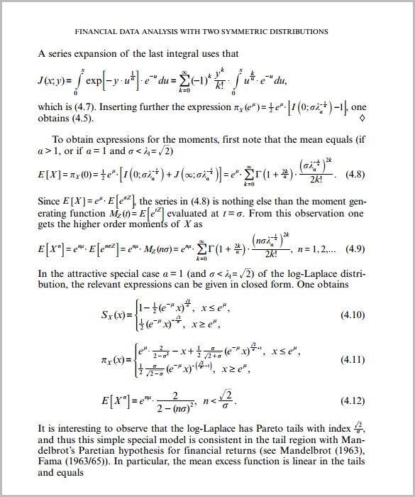 Data Analysis Template u2013 8+ Free Word, PDF Format Download