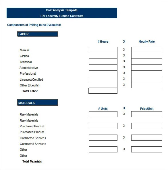 Vendor Analysis Template - 7+ Free Word, Excel, PDF Format Download