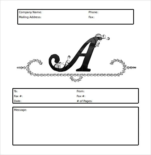 11+ Fax Cover Sheet - DOC, PDF Free  Premium Templates