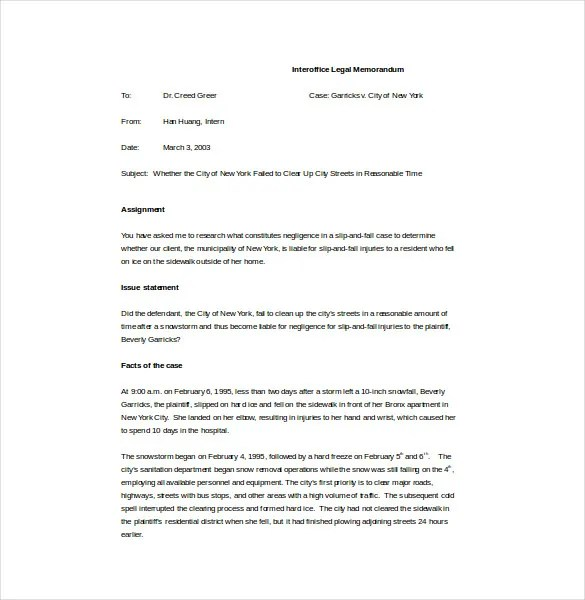 Memo Template – 17+ Free Word, Pdf Documents Download! | Free