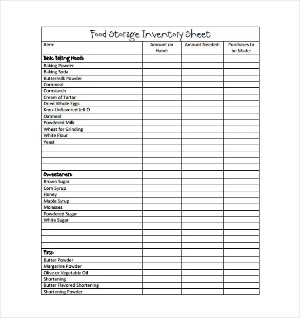 Inventory Template u2013 22+ Free Word, Excel, PDF Documents Download - inventory list template