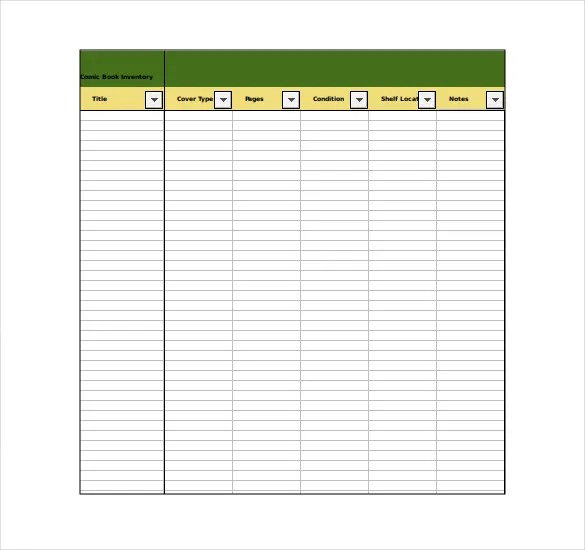 Inventory Template u2013 20+ Free Word, Excel, PDF Documents Download - inventory sheets template