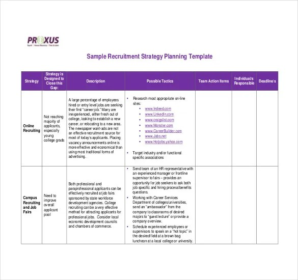 Strategy Template \u2013 19+ Free Word, Excel, PDF Document Download
