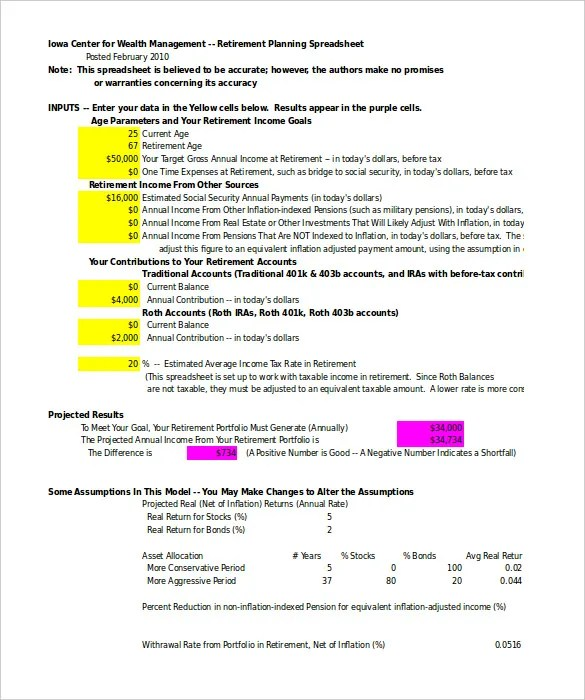 Spreadsheet Templates \u2013 20+ Free Excel, PDF Documents Download