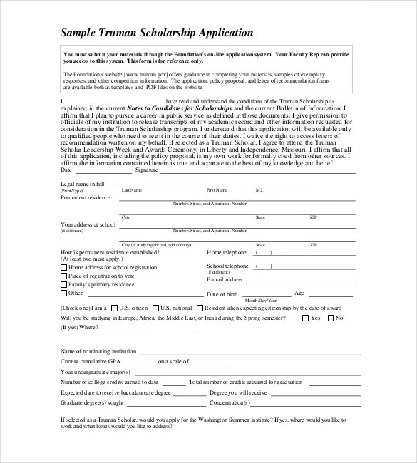 Application Templates \u2013 20+ Free Word, Excel, PDF Documents Download