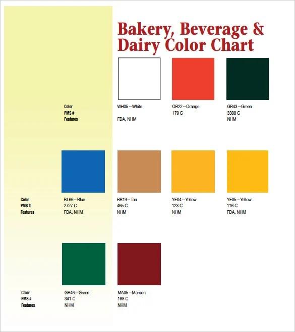 5+ Color Chart Templates - PDF Free  Premium Templates