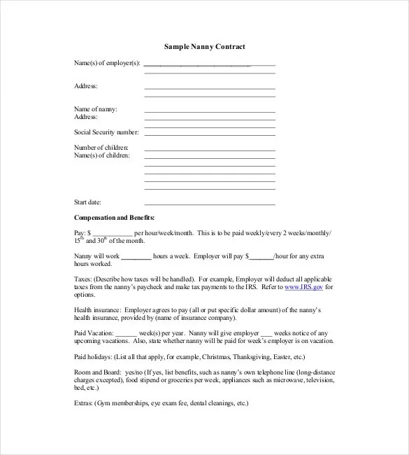 Contract Template u2013 23+ Free Word, Excel, PDF Documents Download - contractual agreement template
