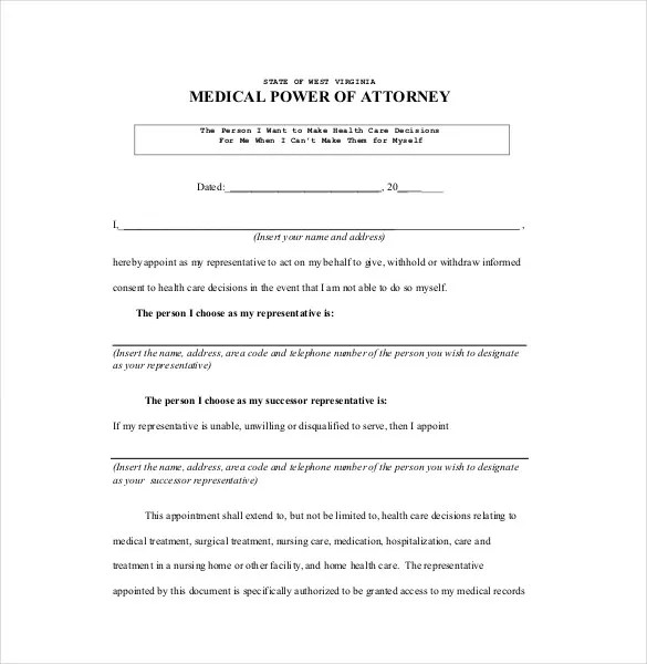 18+ Power of Attorney Templates - PDF, DOC Free  Premium Templates