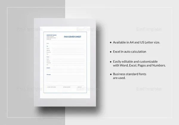 10+ Confidential Fax Cover Sheet Templates \u2013 Free Sample, Example
