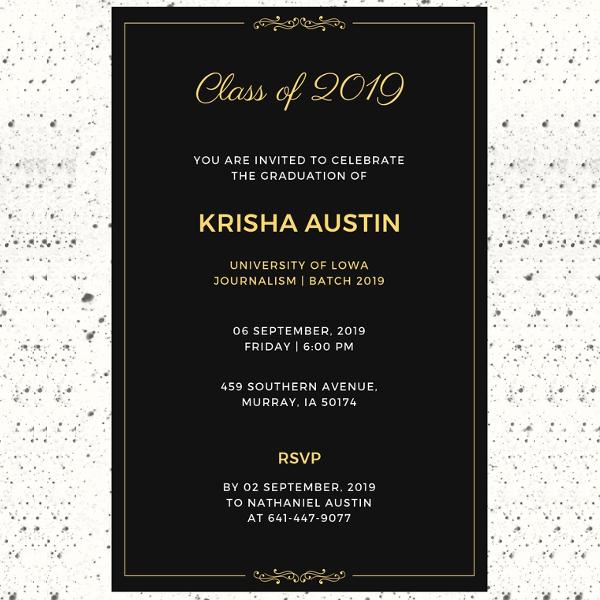 27+ Graduation Invitation Templates \u2013 Free Sample, Example, Format