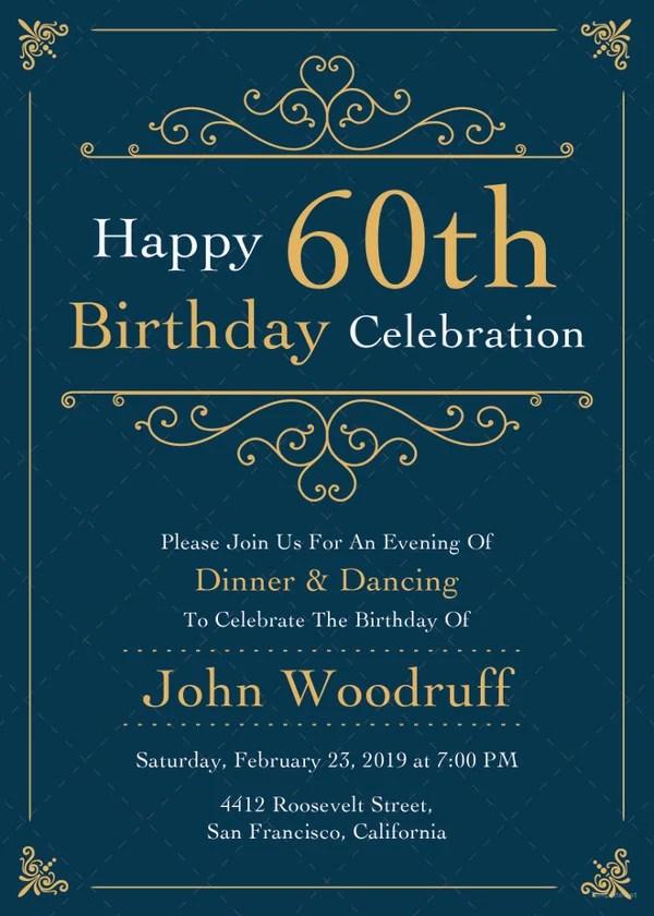 39+ Adult Birthday Invitation Templates - Free Sample, Example