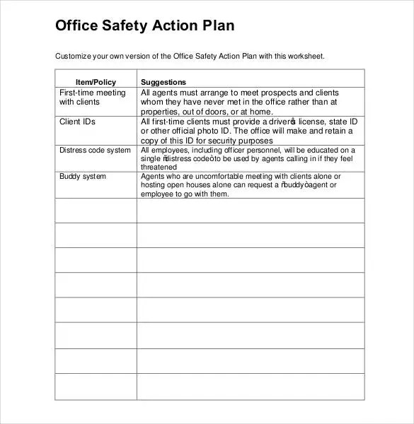 Action Plan Template - 110+ Free Word, Excel, PDF Documents Free - action plan work sheet