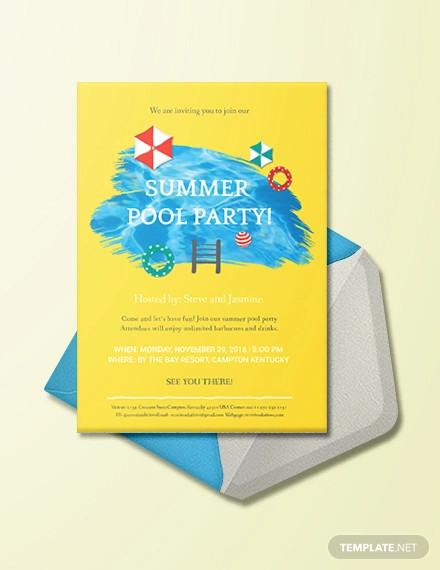 25+ Party Invitation Templates - PSD, AI, Word Free  Premium