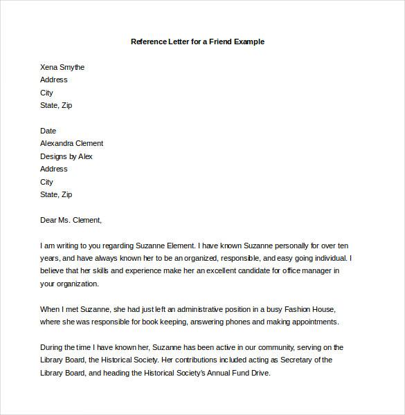 19+ Reference Letter Templates - DOC, PDF Free  Premium Templates