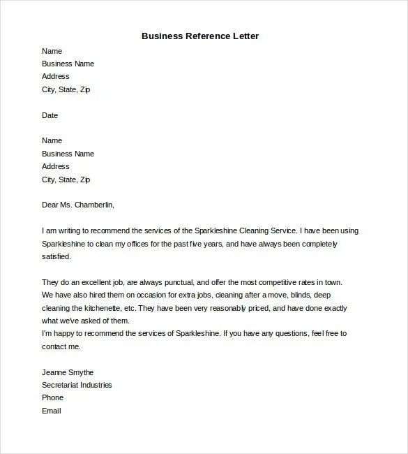 how to format a reference letter - Onwebioinnovate - job reference letter sample free