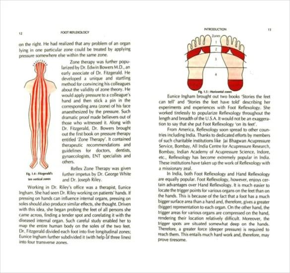 7+ Reflexology Chart Templates - DOC, PDF Free  Premium Templates