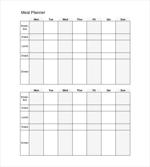 Daily Planner Template - 29+ Free Word, Excel, PDF Document Free - free planner template