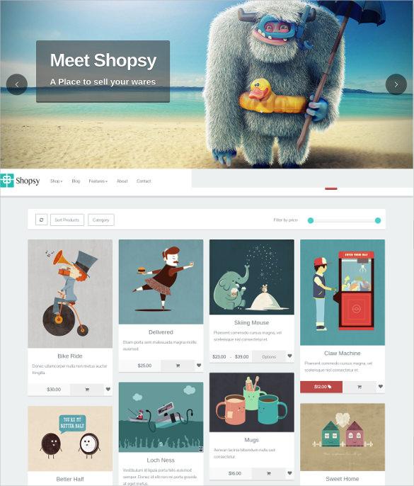 39+ eCommerce Website Themes amp; Templates Free  Premium Templates