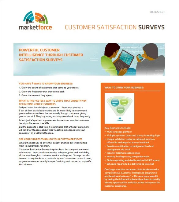 Survey Templates \u2013 27+ Free Word, PDF Documents Download! Free