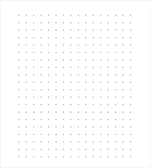 Lined Paper Template - 12+ Free Word, Excel, PDF Documents - dot paper template
