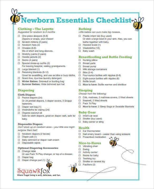 Checklist Template \u2013 38+ Free Word, Excel, PDF Documents Download - download checklist template