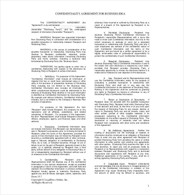 Confidentiality Agreement Medical Practice – Medical Confidentiality Agreement