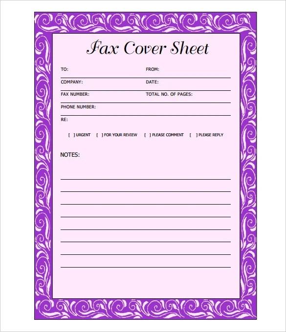 12+ Cover Sheet - DOC, PDF Free  Premium Templates