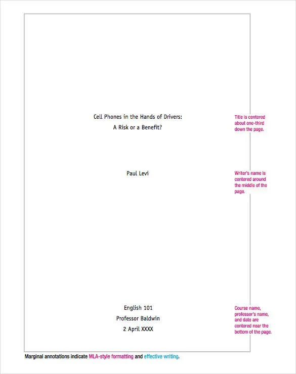 essay cover page how to write a cover page mla style how to gallery - how to write a cover page