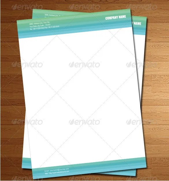 Letterhead Template \u2013 6+ Free PSD, EPS Documents Download! Free