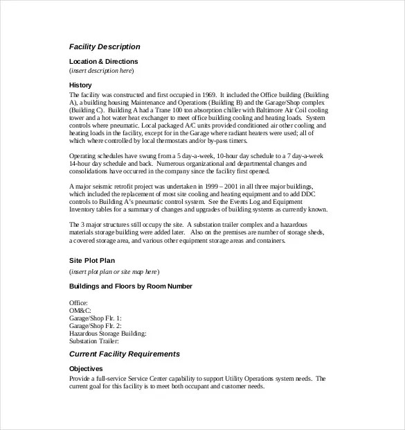 Operation Manual Sample Memo  Why Resumes Matter Ten Reasons Of