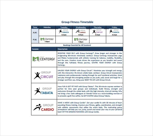 Timetable Templates \u2013 14+ Free Word, PDF, Documents Download! Free