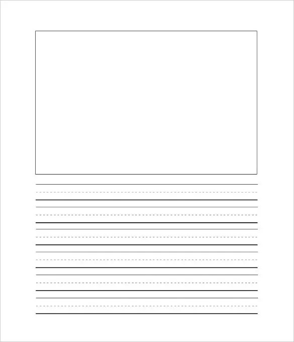 Writing Template \u2013 6+ Free Word, PDF Documents Download! Free - blank writing sheet