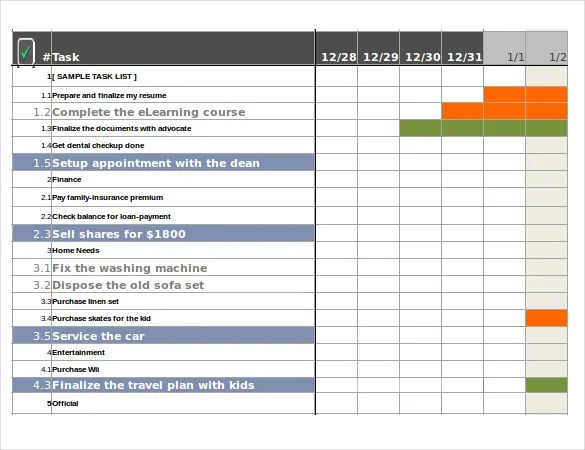 employee task tracking template - Funfpandroid