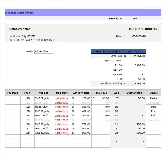 16+ Tracking Templates - DOC, PDF Free  Premium Templates