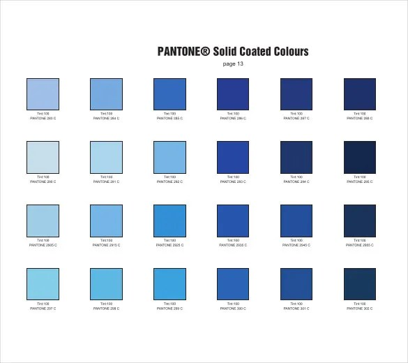 pms color chart blue - tomhewittorg - sample pms color chart