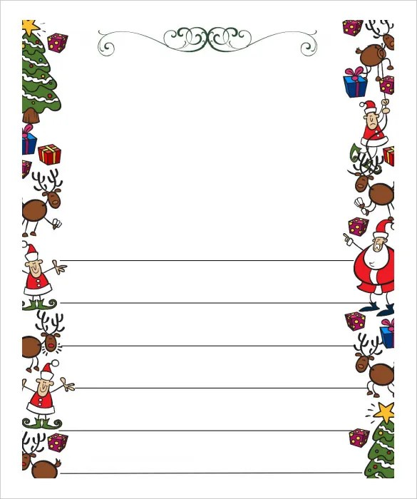 13+ Christmas Letter Templates - Word, Apple Pages, Google Docs