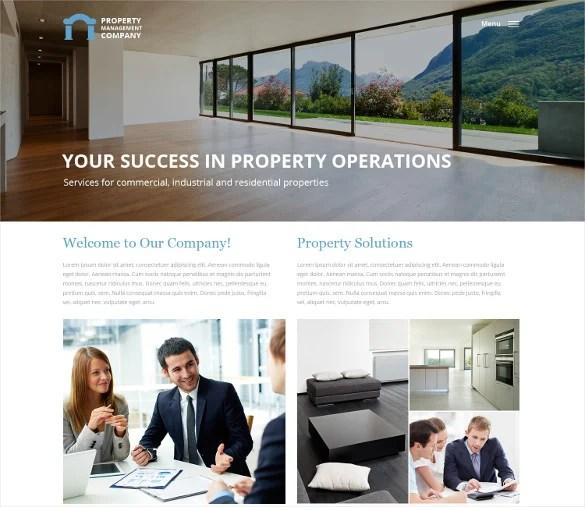 23+ Realtor Website Themes  Templates Free  Premium Templates - property management websites templates