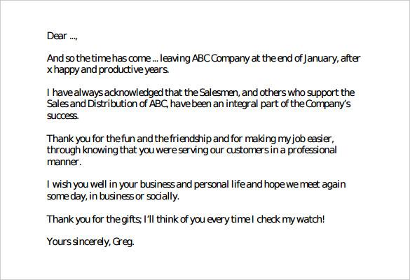 Resignation Letter Retirement Sample  Cover Letter Automotive Company