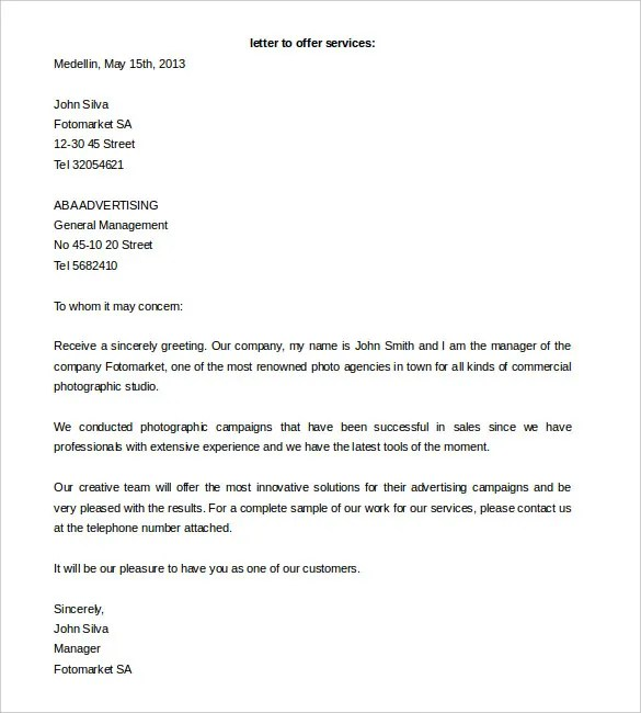 Proposal Letter Template - 24+ Free Word, PDF Document Formats - proposal latter