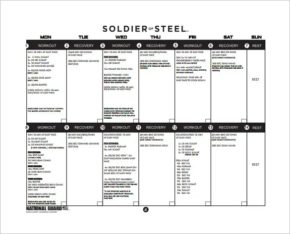 Training Plan Template - 9+ Word, PDF Documents Download Free