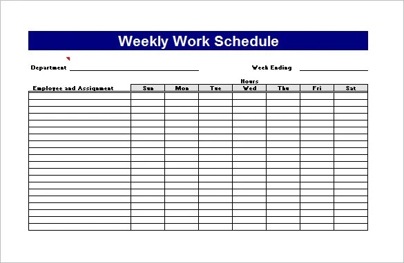 Work Plan Template - 15+ Free Word, PDF Documents Download Free - work templates