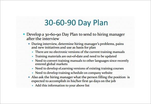 19+ 30 60 90 Day Plan Templates - PDF, DOC Free  Premium Templates - sample 30 60 90 day plan
