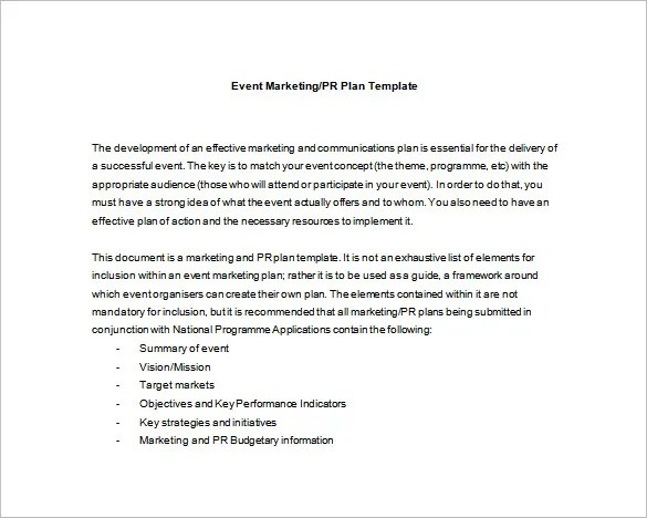 Event Planning Template - 9 Free Word, PDF Documents Download Free - Event Planning Document Template