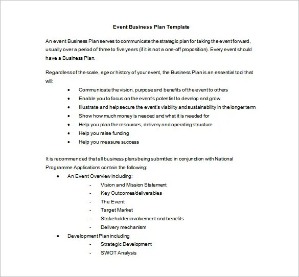 Event Planning Template - 9 Free Word, PDF Documents Download Free - Event Plan Template
