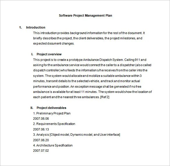 project plan document - Funfpandroid - project plan template word doc