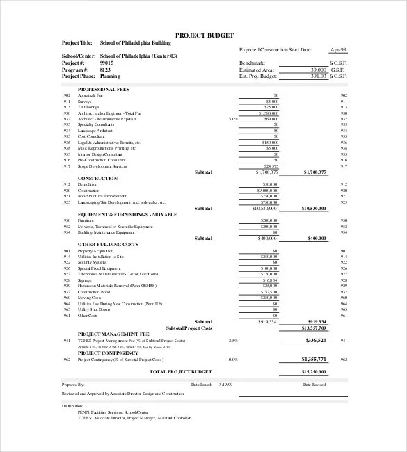 Sample Construction Budget Budget Estimate Template Download Home - sample construction budget
