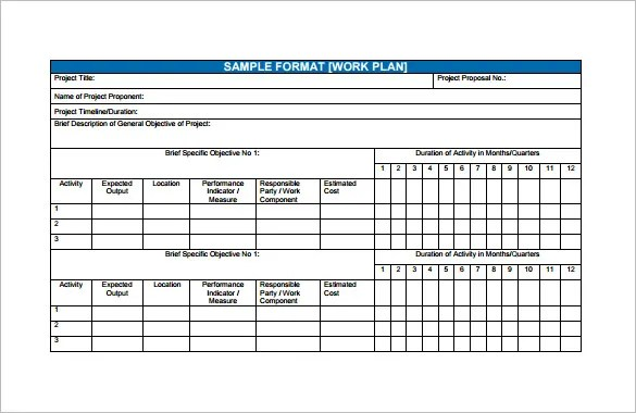 Financial Plan Templates - 11+ Word, Excel, PDF Documents Download